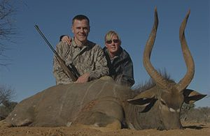 The kudu on this property is fantastic. I was most happy with the kudu,nyala and impala.