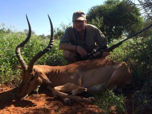 Impala hunted by Keith Brossard, USA | April 2018 | at Matsuri Safaris