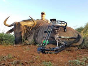 Blue Wildebeest hunted by Dave Brossard, USA | April 2018