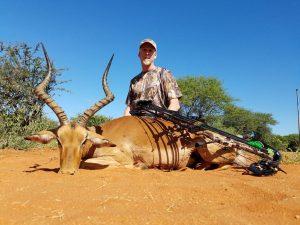 Impala hunted by Dave Brossard, USA | April 2018 | at Matsuri Safaris