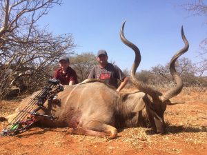 Kudu Michael and Hunter Brinkle - august 20171