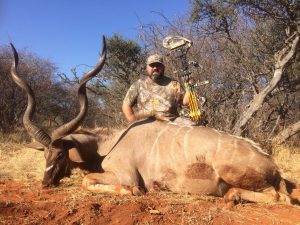 Kudu hunted by Mark Corey August 2017