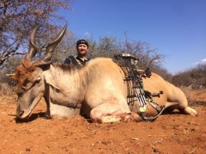 Eland hunted by Kevin Kruger USA August 2017